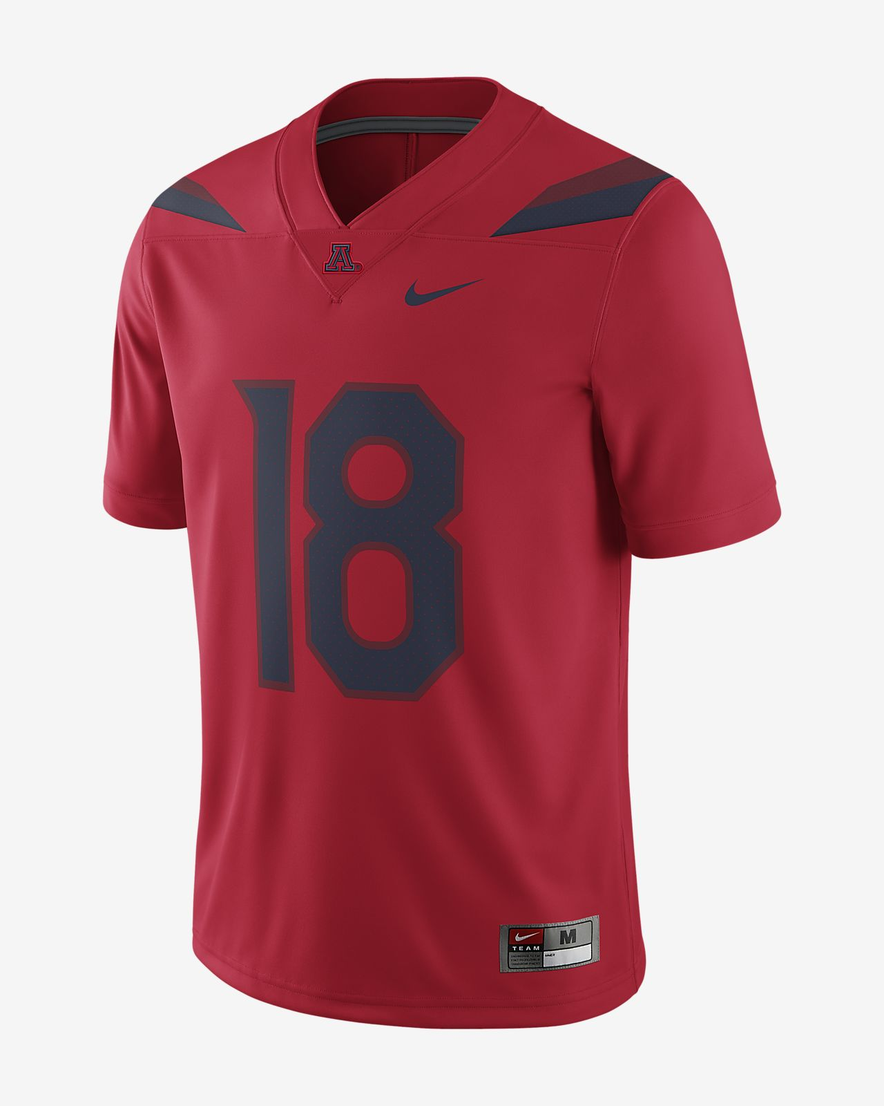 Nike College Game (Arizona) Men's Football Jersey