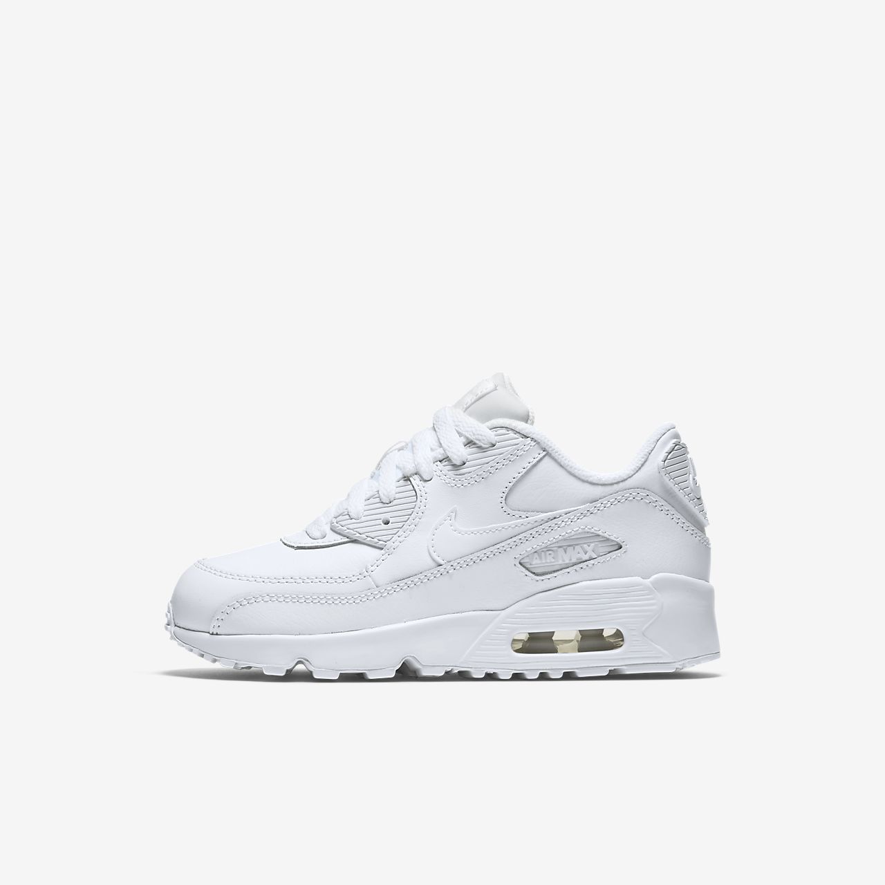 venta reino unido barato para la venta disponible Nike Air Max 90 Leather Little Kids' Shoe