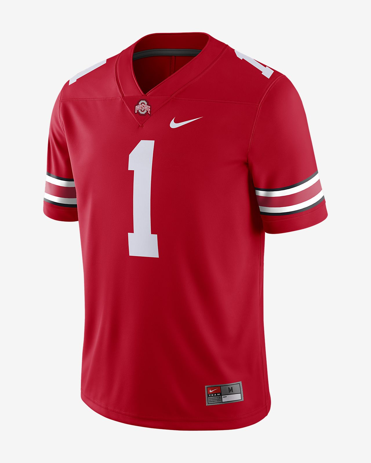 Nike College Dri-FIT Game (Ohio State) Men's Football Jersey