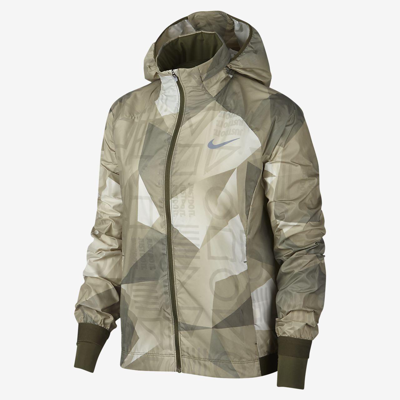 Nike Shield  Women's Hooded Running Jacket