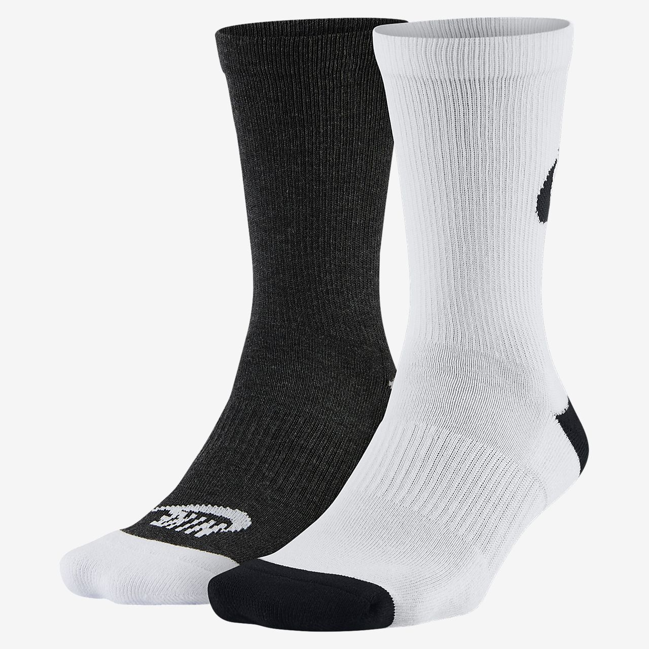 08b06516 Nike Sportswear Just Do It Crew Socks (2 Pair)