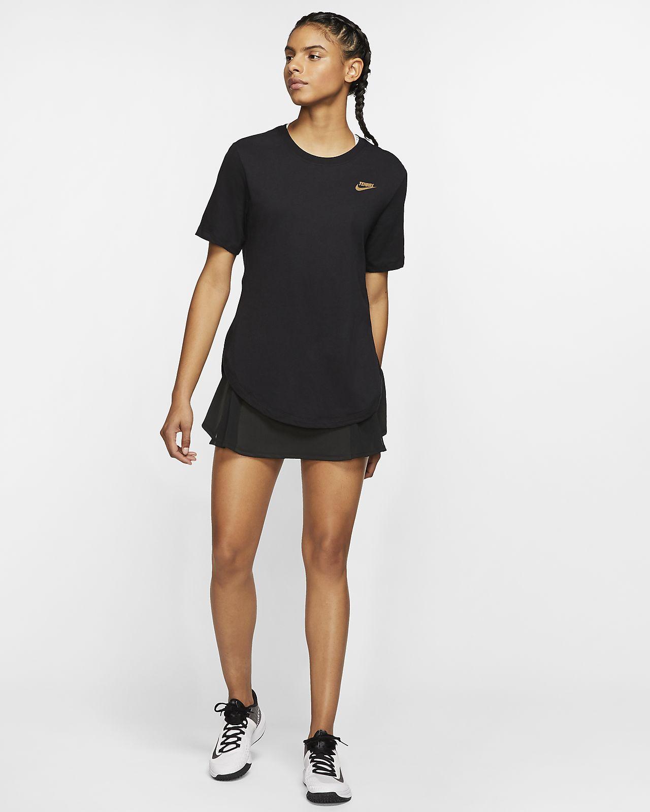 NikeCourt tennis T shirt med grafik til kvinder. Nike DK