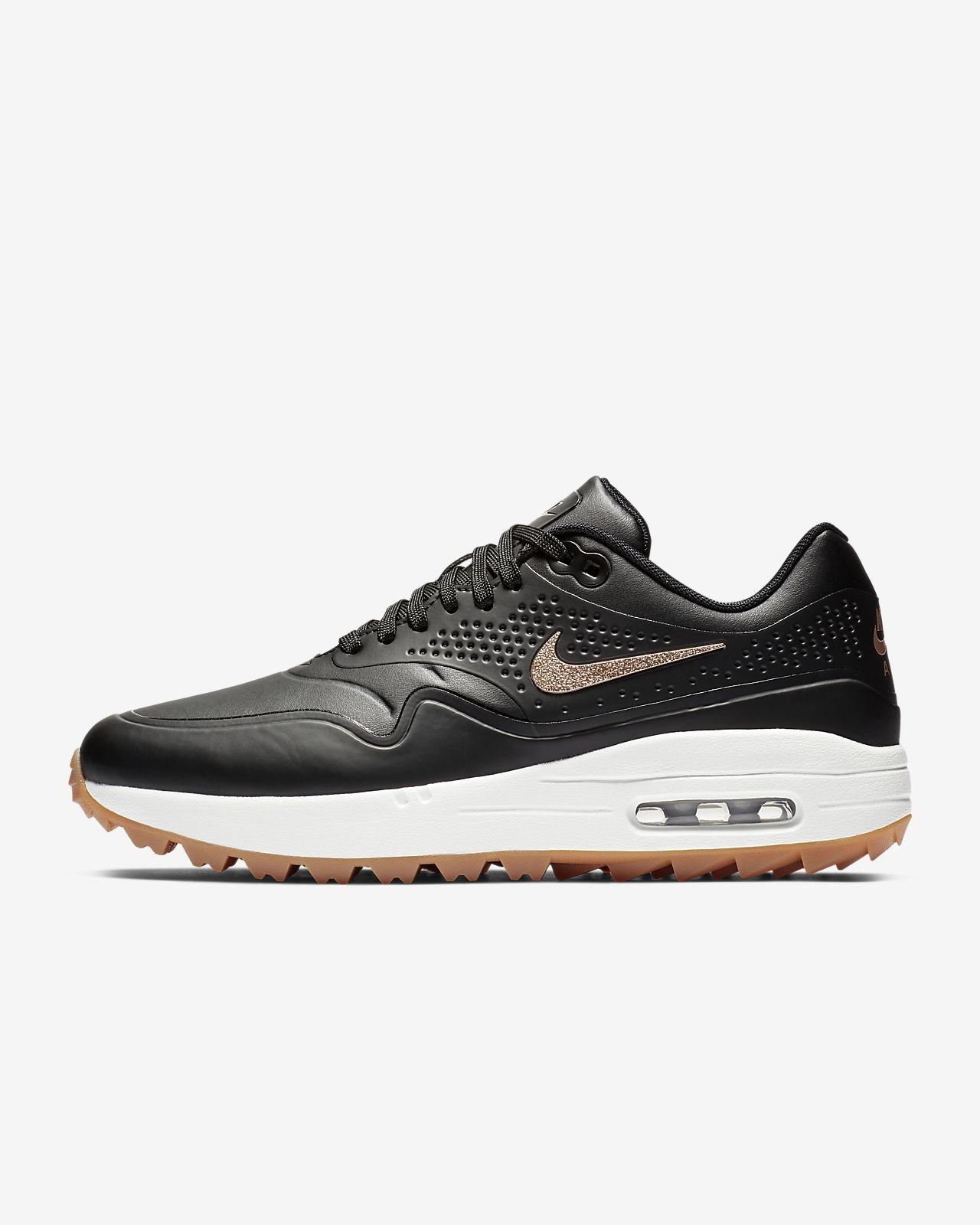 Nike Air Max 1 G-golfsko til kvinder