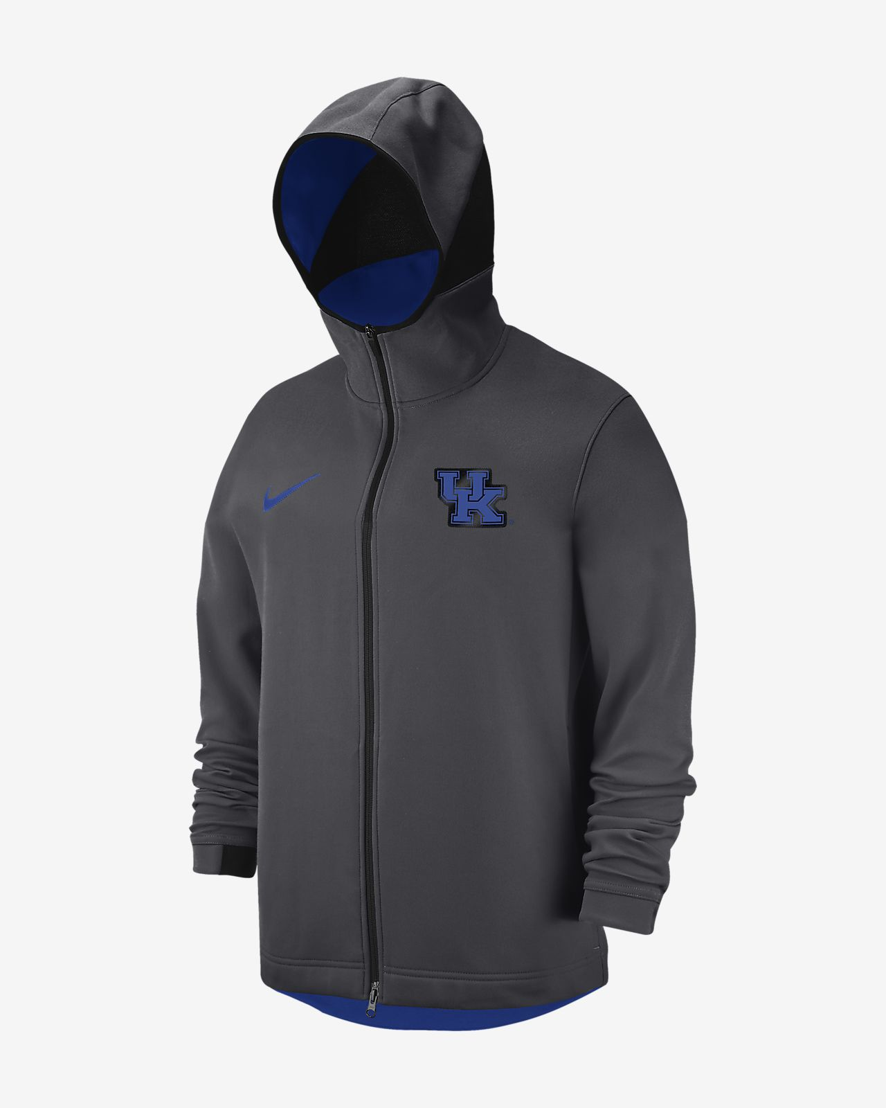 Nike College Dri FIT Showtime (Kentucky) Men's Full Zip Hoodie