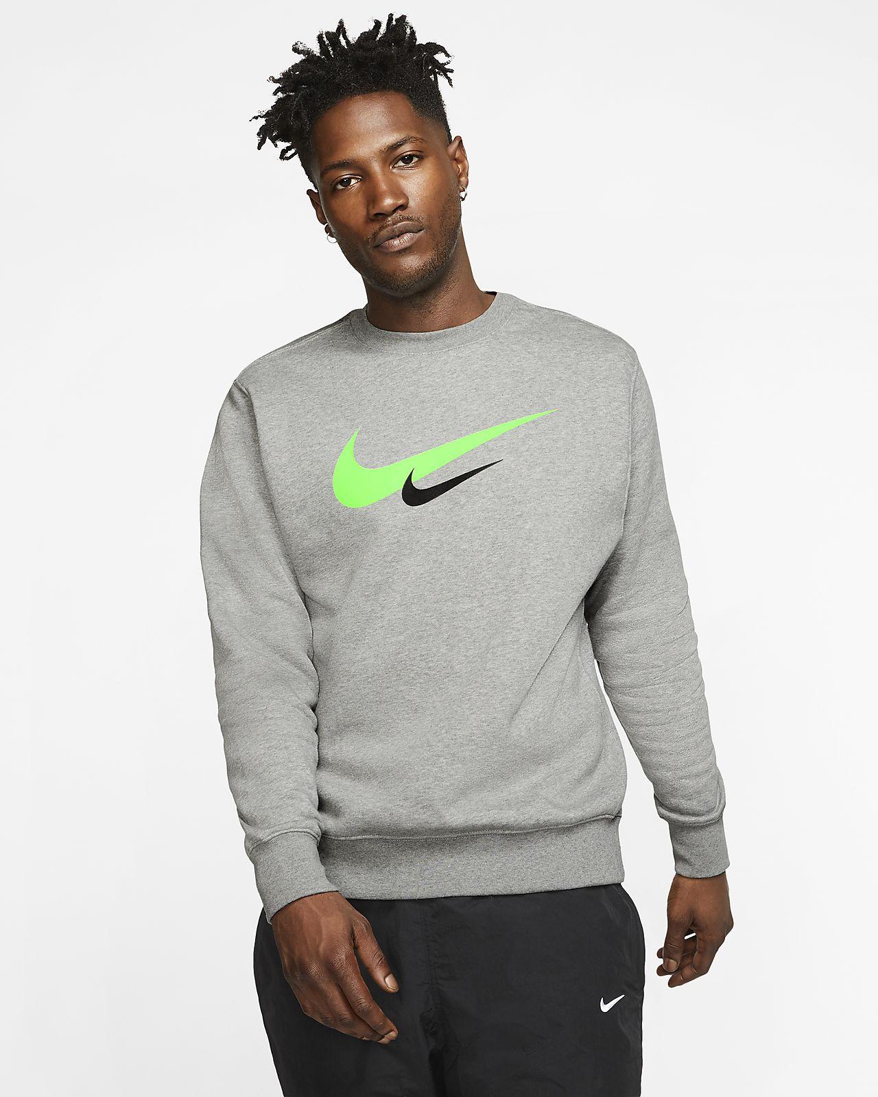 Nike Sportswear Herenshirt met ronde hals en Swoosh