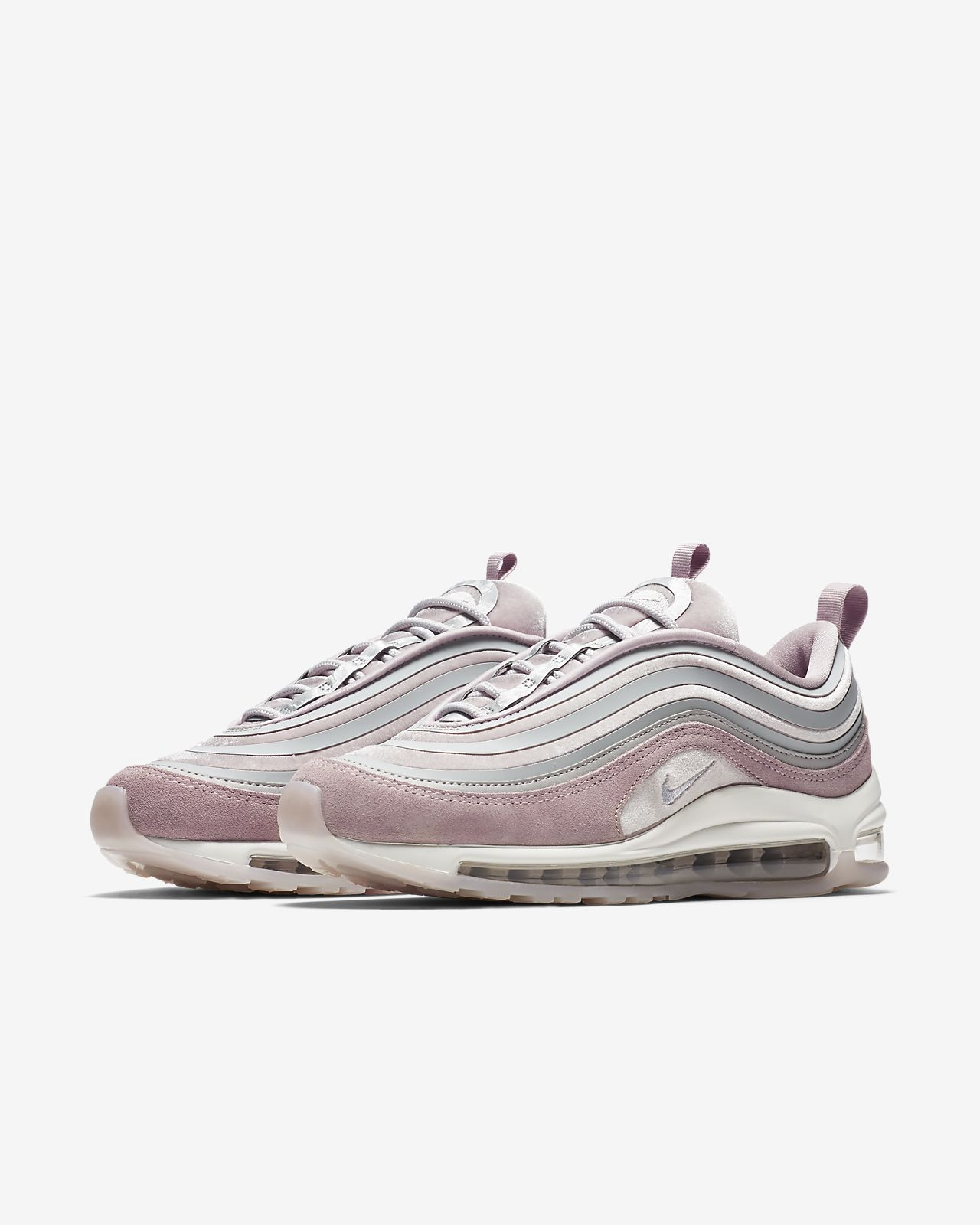 sneakers for cheap 76a80 2aa34 Nike WMNS AIR MAX 97 ULTRA  17 SE   GRIS Gris - Chaussures Chaussures-