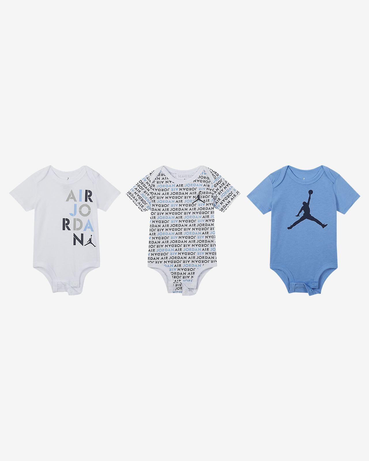 Air Jordan婴童连体衣套装(3 件)