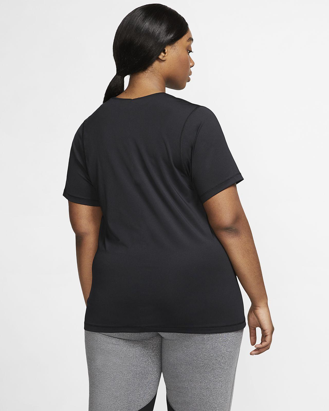 0c0334cd8d1e9 Nike Pro Women s Mesh Top (Plus Size). Nike.com