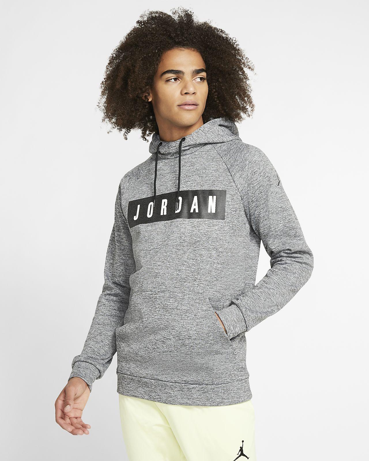 Sudadera con capucha sin cierre de tejido Fleece para hombre Jordan 23 Alpha Therma