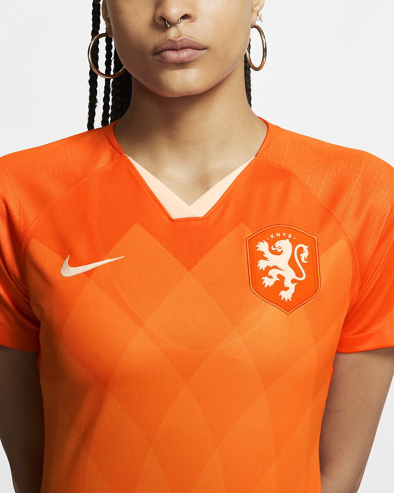 Niederlande 2019 Stadium Home Damen Fußballtrikot