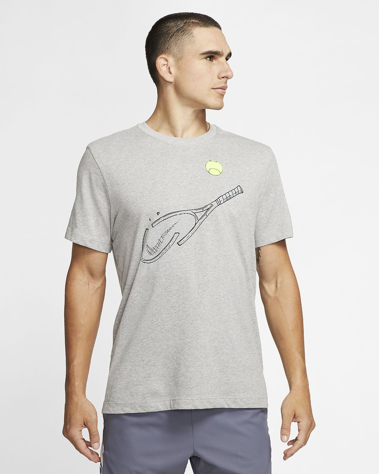 NikeCourt Dri FIT Men's Graphic Tennis T Shirt