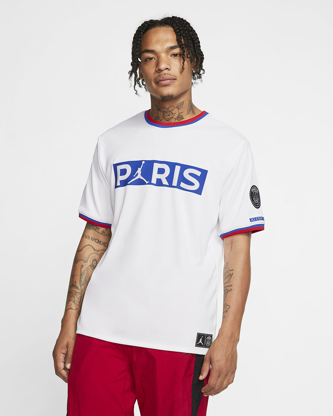 Paris Saint-Germain Short-Sleeve Replica Top