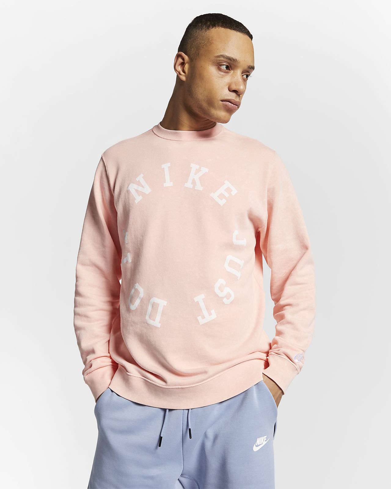 Nike Sportswear Men's French Terry Crew