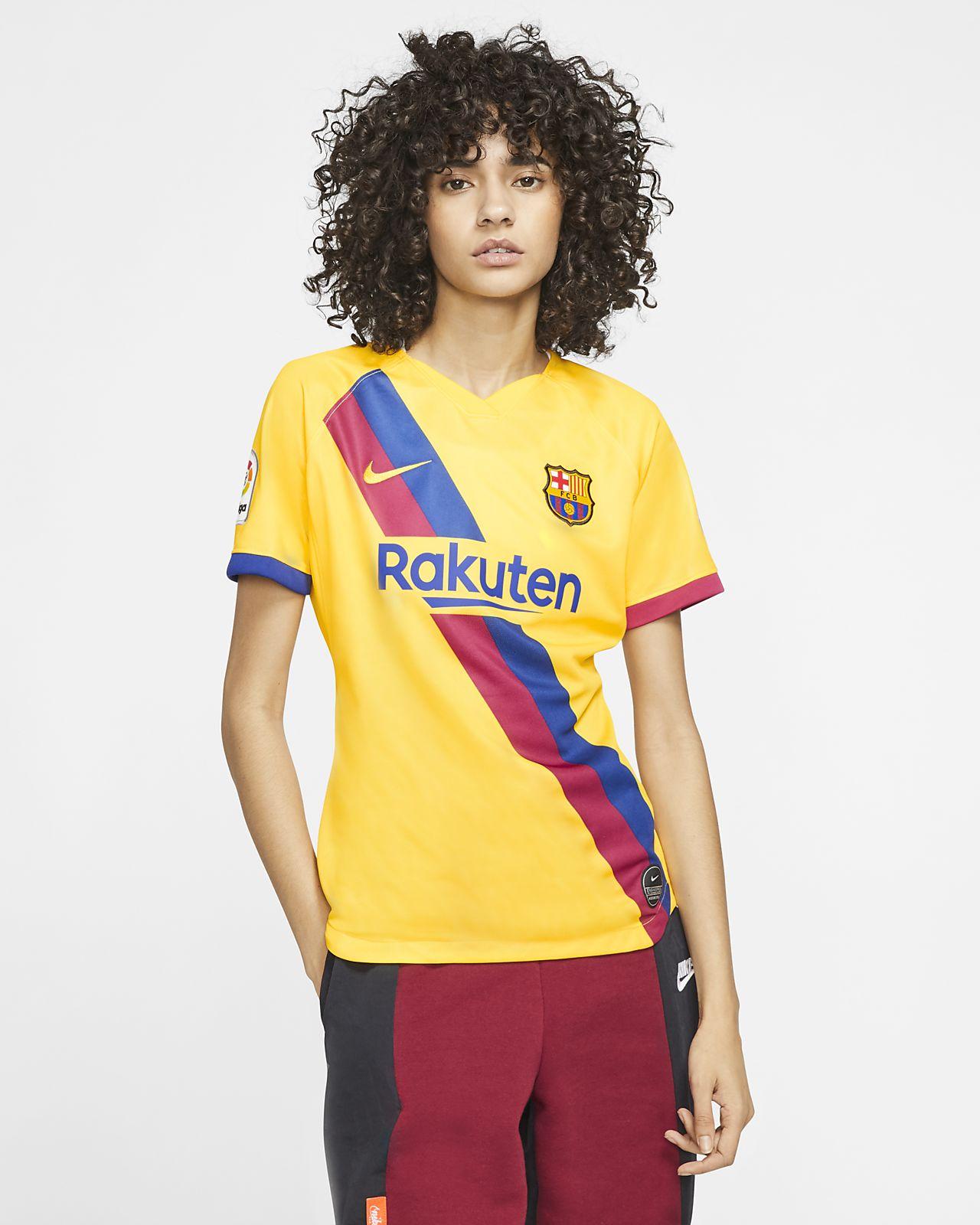 FC Barcelona 2019/20 Stadium Away Kadın Futbol Forması