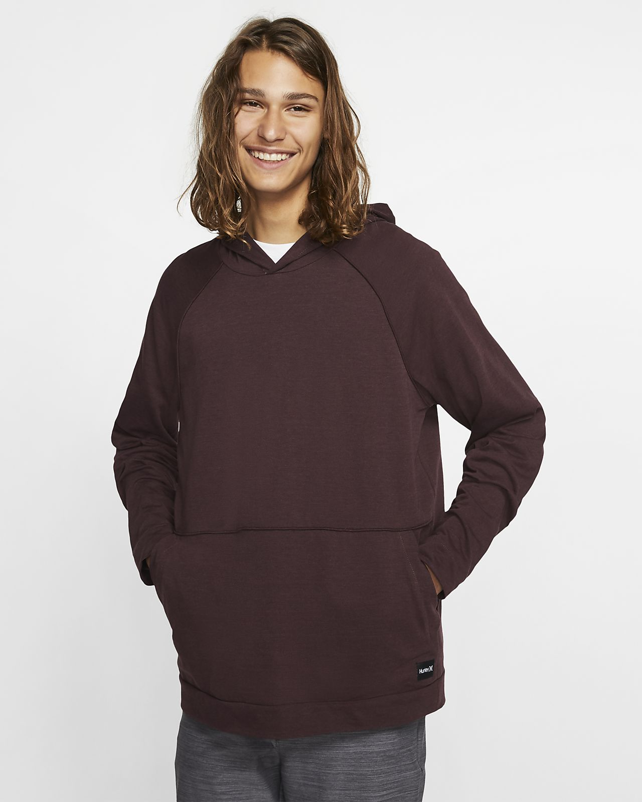 Hurley Dri-FIT Mongoose Men's Long-Sleeve Pullover Hoodie