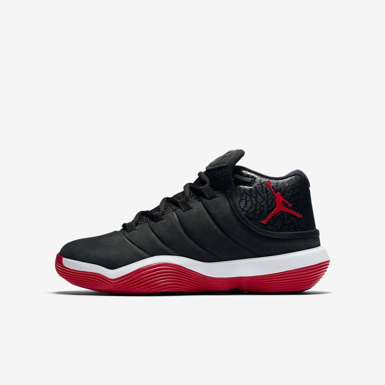 chaussure de basketball jordan super fly 2017 pour enfant. Black Bedroom Furniture Sets. Home Design Ideas