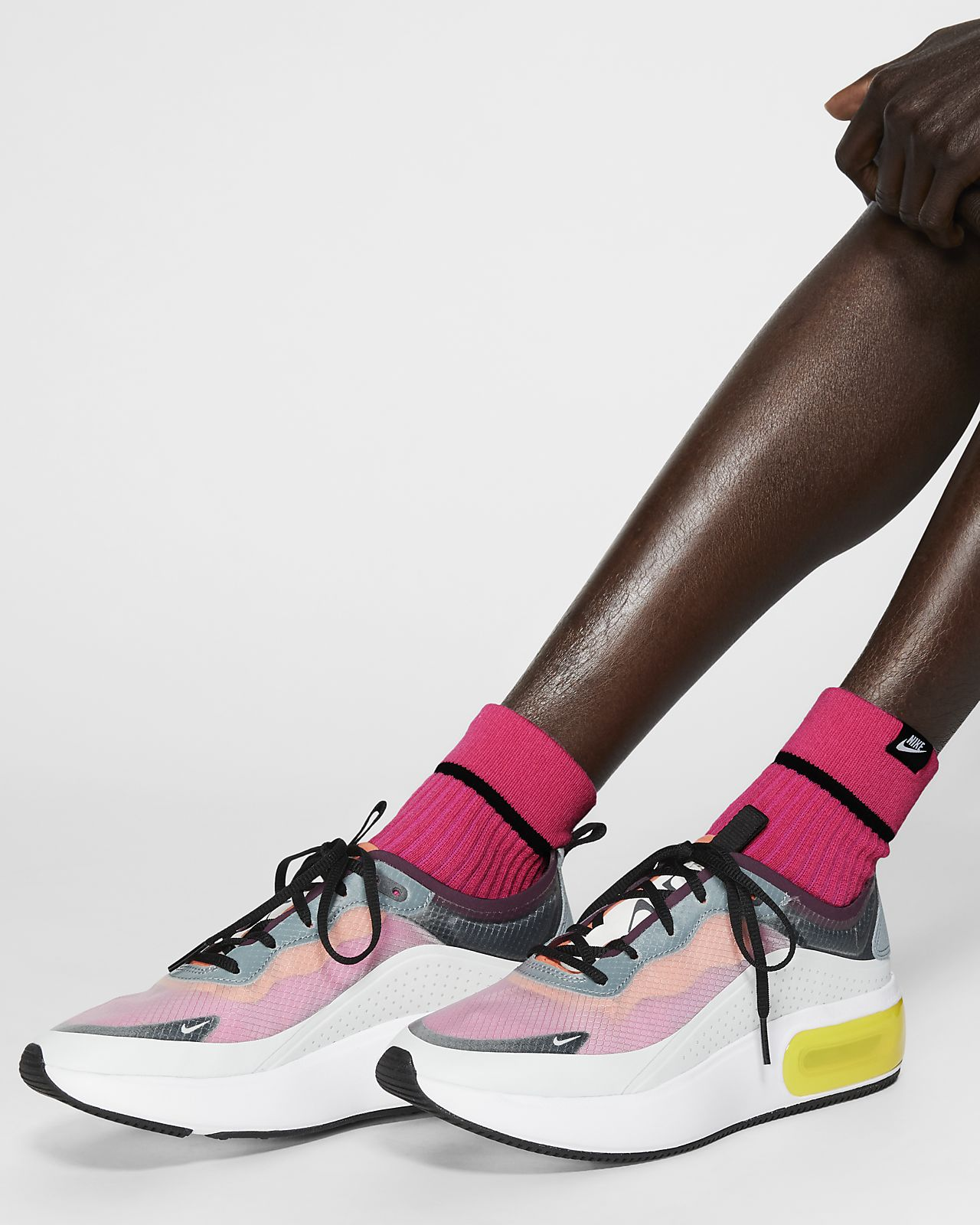 Nike SNKR Sox Ankle Socks (2 Pairs)