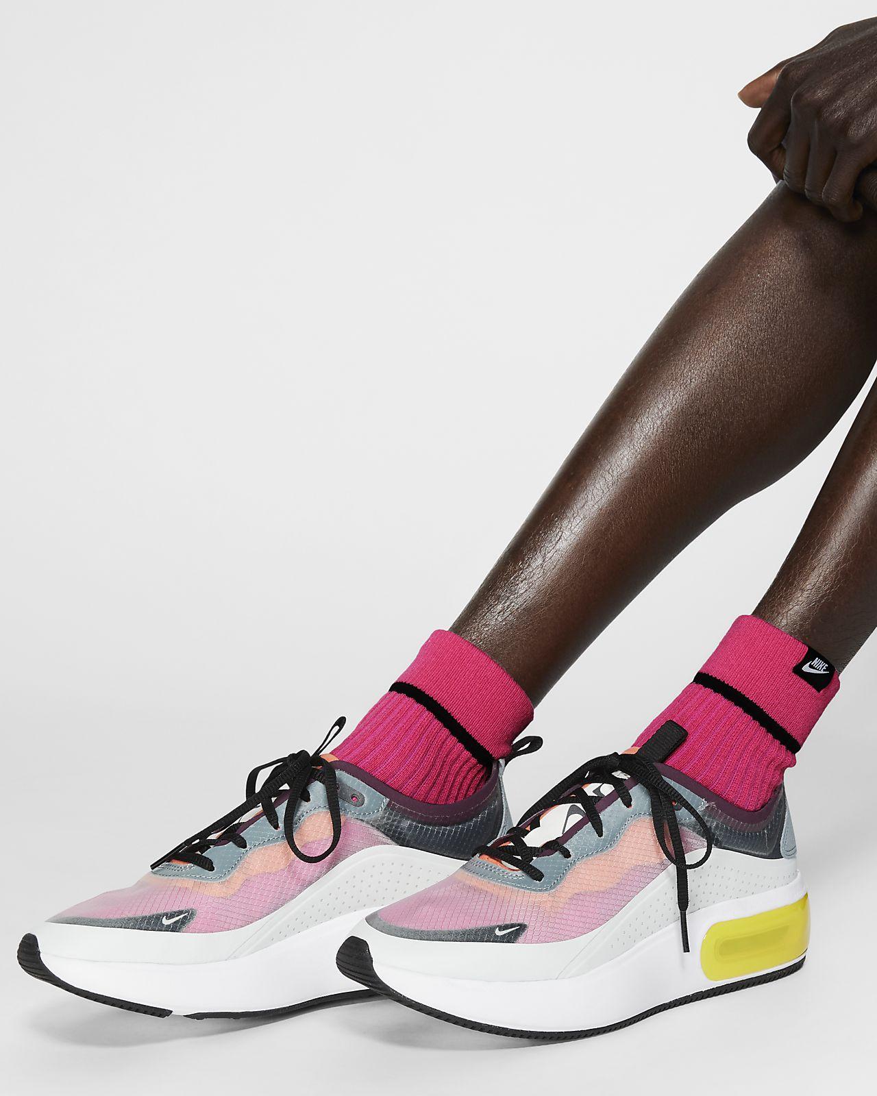 Vristhöga strumpor Nike SNEAKR Sox (2 par)