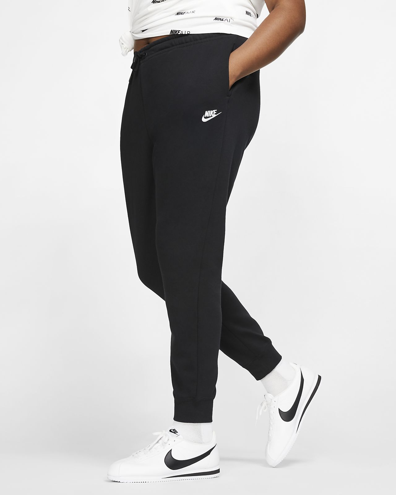 Pantaloni in fleece Nike Sportswear Essential (Plus Size) Donna