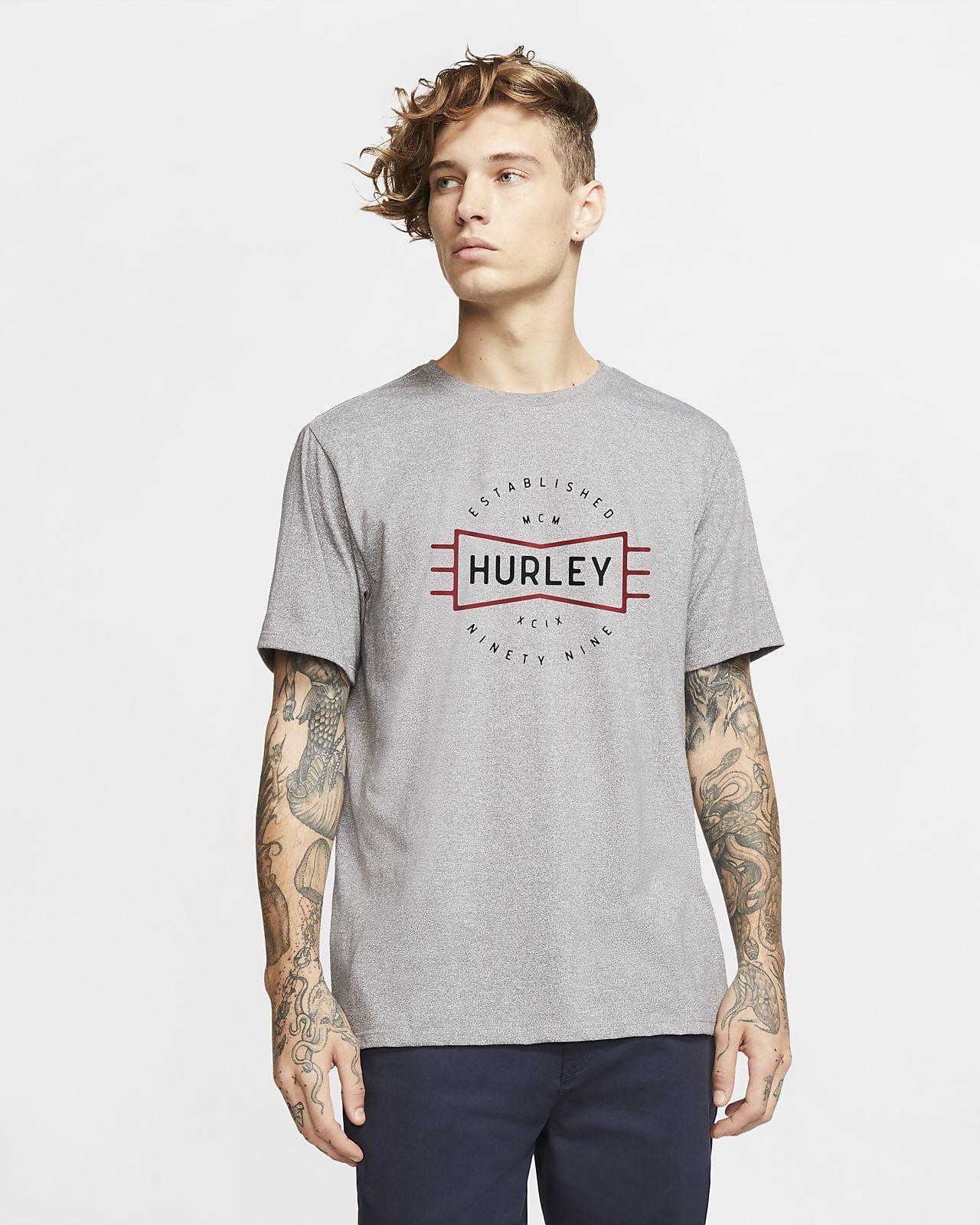 Playera de ajuste premium para hombre Hurley Bow Tie