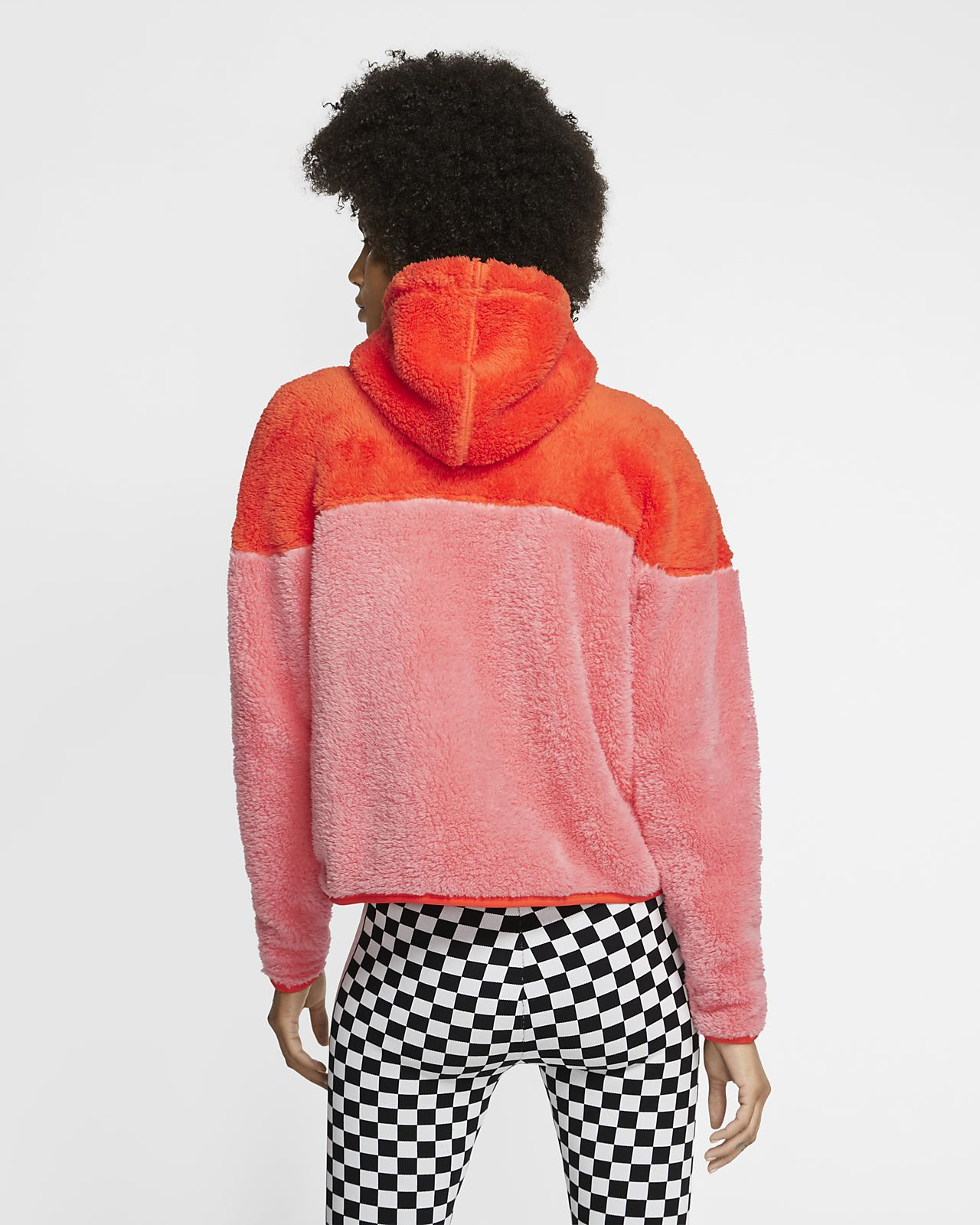 Veste en sherpa Nike Sportswear Windrunner pour Femme