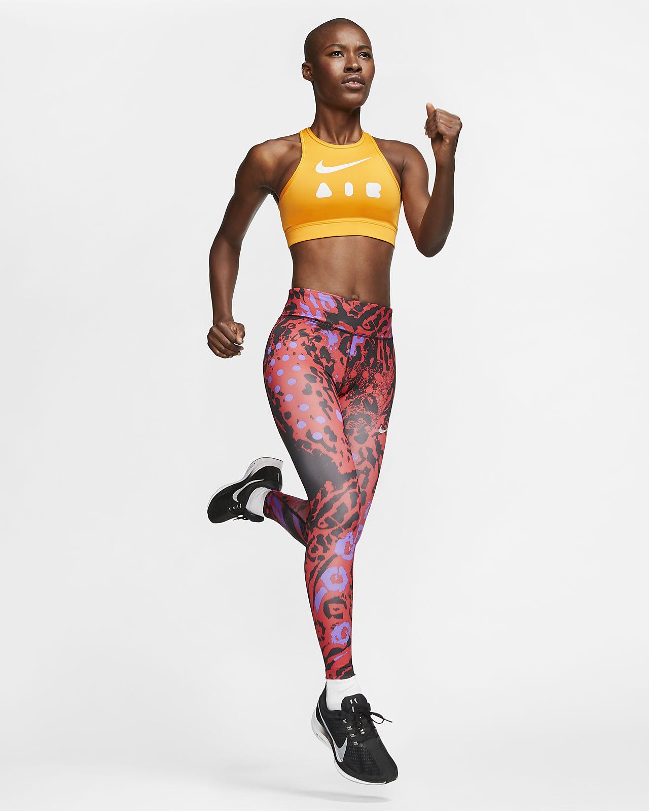 Nike Fast Women S 7 8 Printed Running Leggings Nike Lu