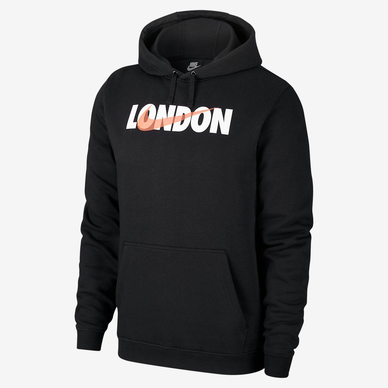 Nike Sportswear Club Fleece (London) Herren Hoodie mit Print