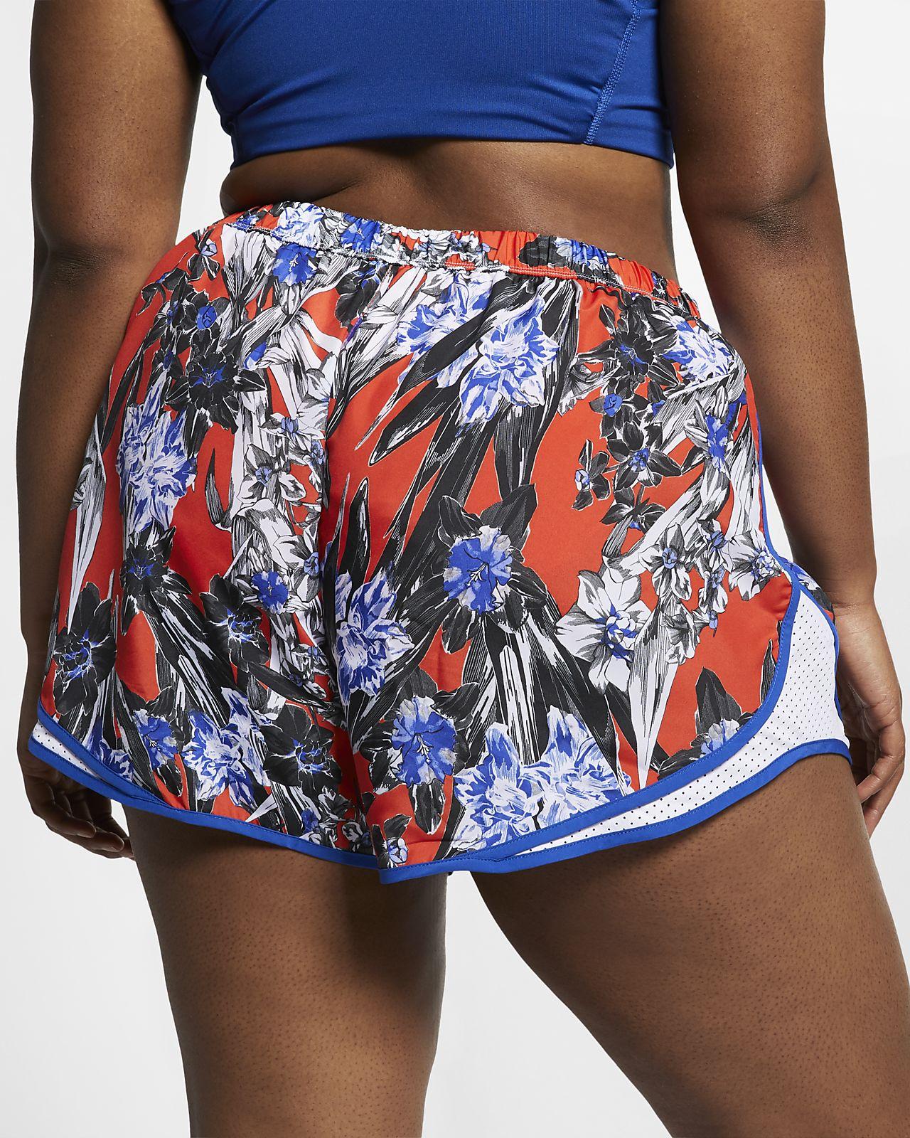 7613169cc1670 Nike Tempo Women s Floral Running Shorts (Plus Size). Nike.com