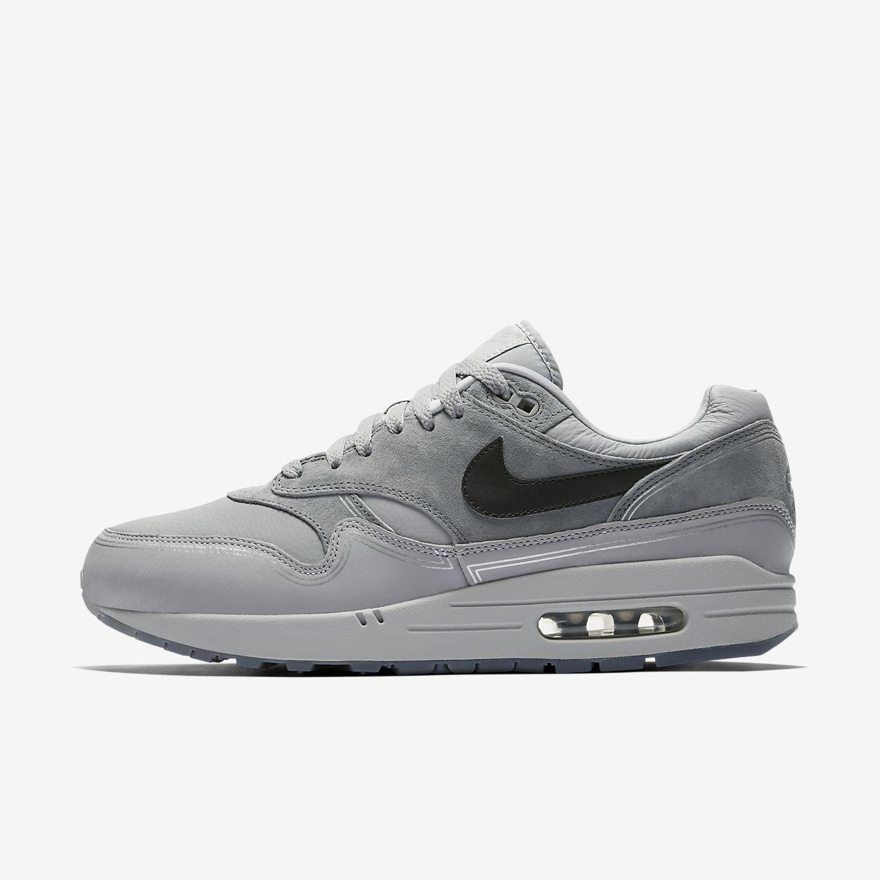 Nike Air Max 1 Gris UK Hombre Zapatos Mejor precio