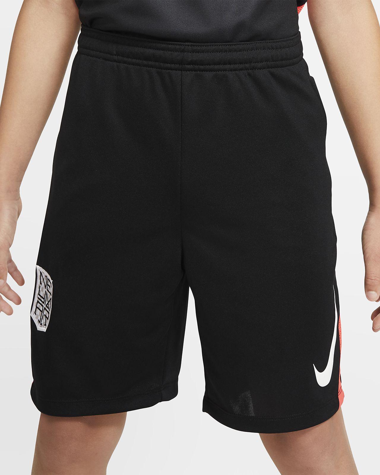 กางเกงฟุตบอลขาสั้นเด็กโต Nike Dri-FIT Neymar Jr.