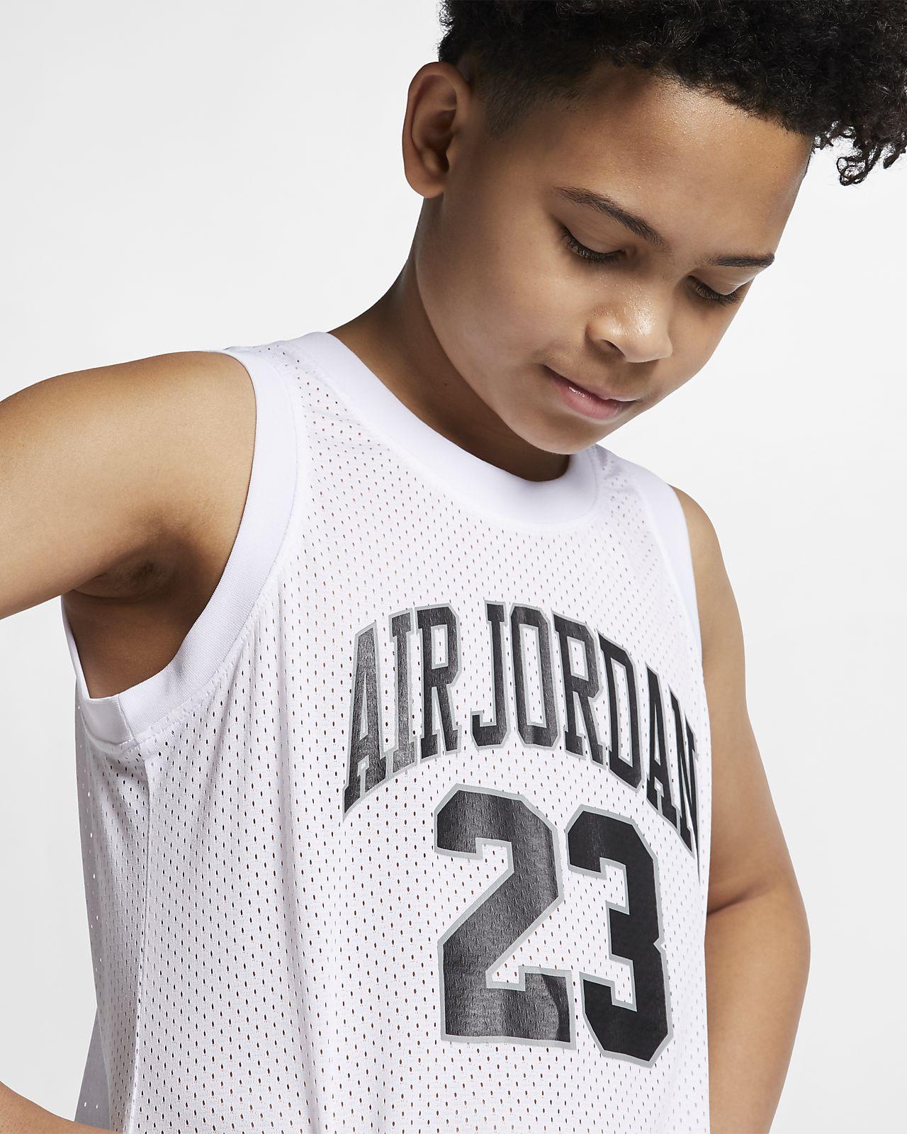 dbb6d56f1de Air Jordan Dri-FIT Older Kids' (Boys') Jersey. Nike.com HU