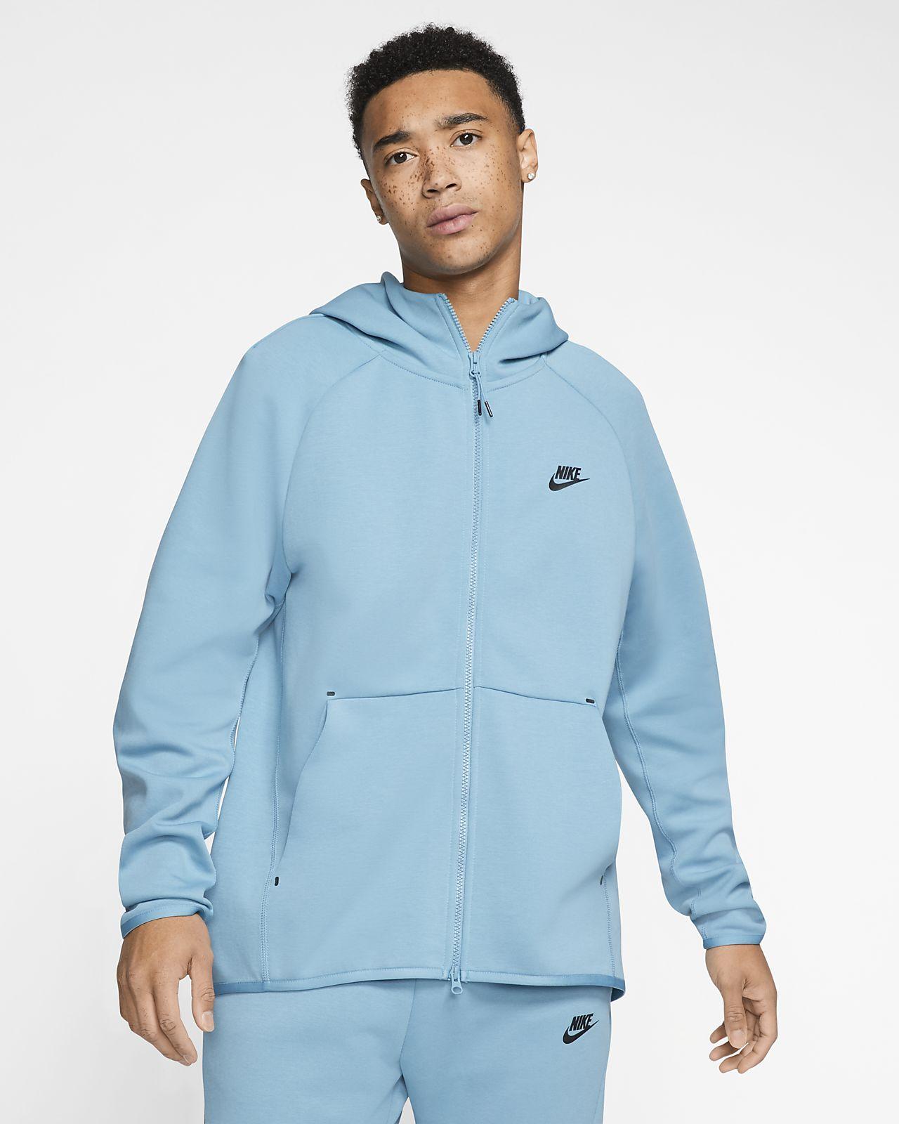 Felpa con cappuccio e zip a tutta lunghezza Nike Sportswear Tech Fleece Uomo