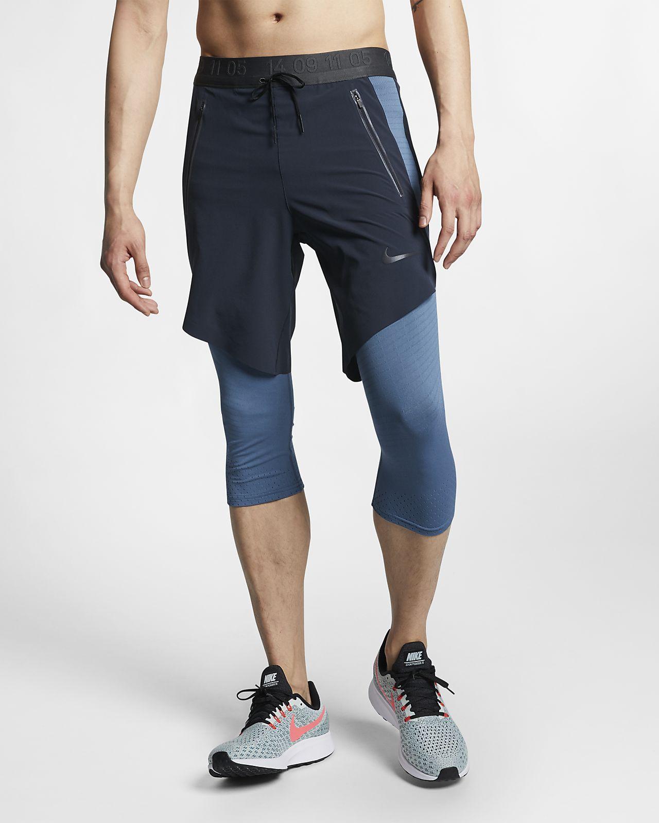 Ανδρικό παντελόνι 3/4 για τρέξιμο Nike Tech Pack