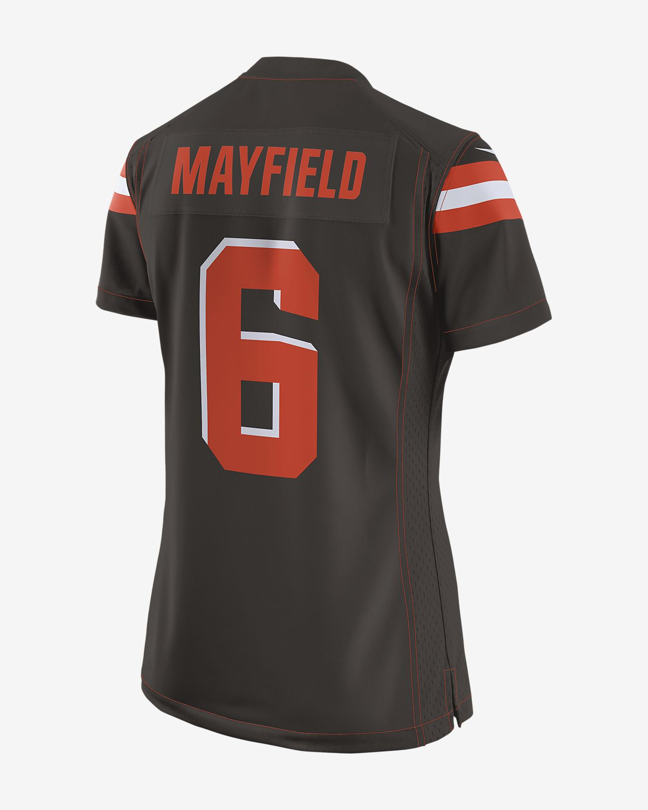 f4562952e NFL Cleveland Browns (Baker Mayfield) Women s Game Football Jersey ...