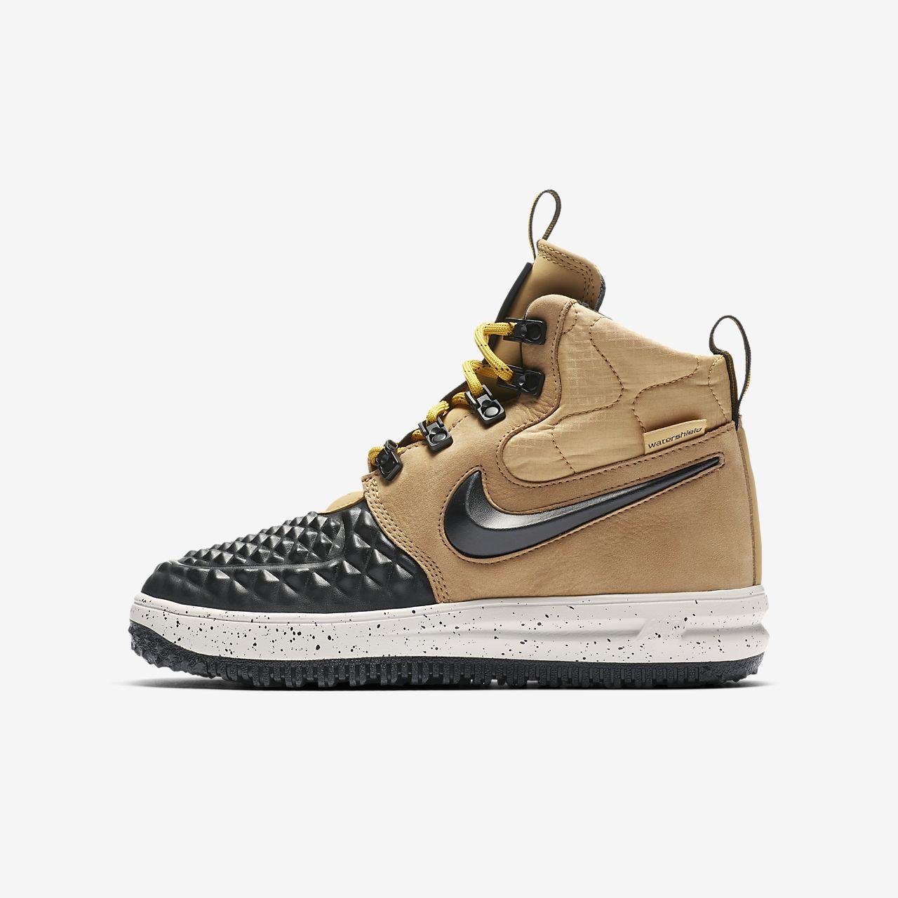 low cost 136b5 15b8c ... Nike Lunar Force 1 Duckboot 17 høy sko for store barn