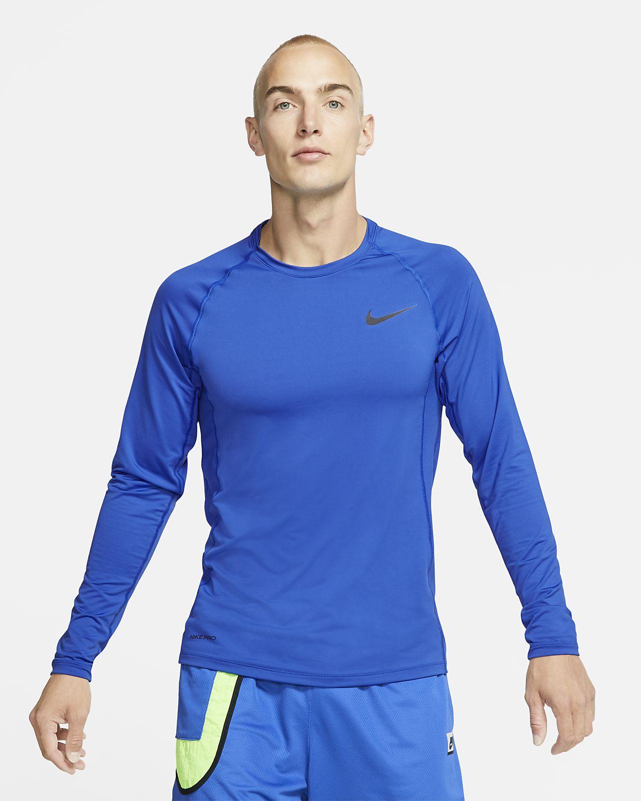 Nike Pro Men's Slim Fit Long-Sleeve Top