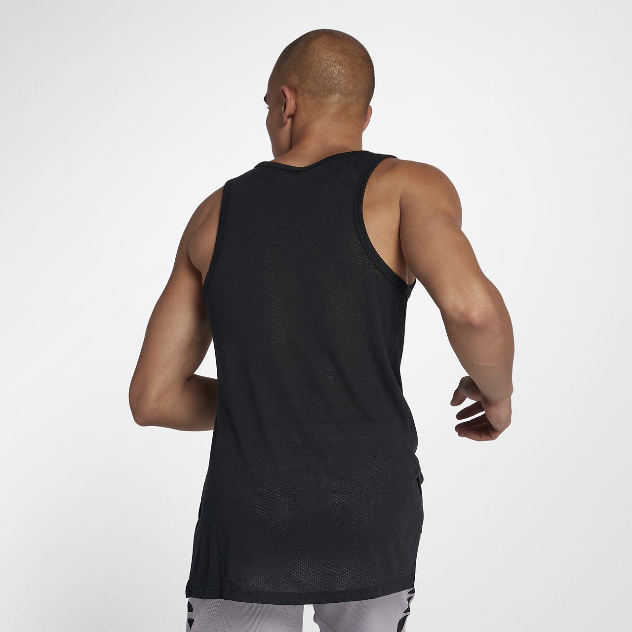 714c3a19 Nike Breathe Elite Men's Sleeveless Basketball Top. Nike.com ZA