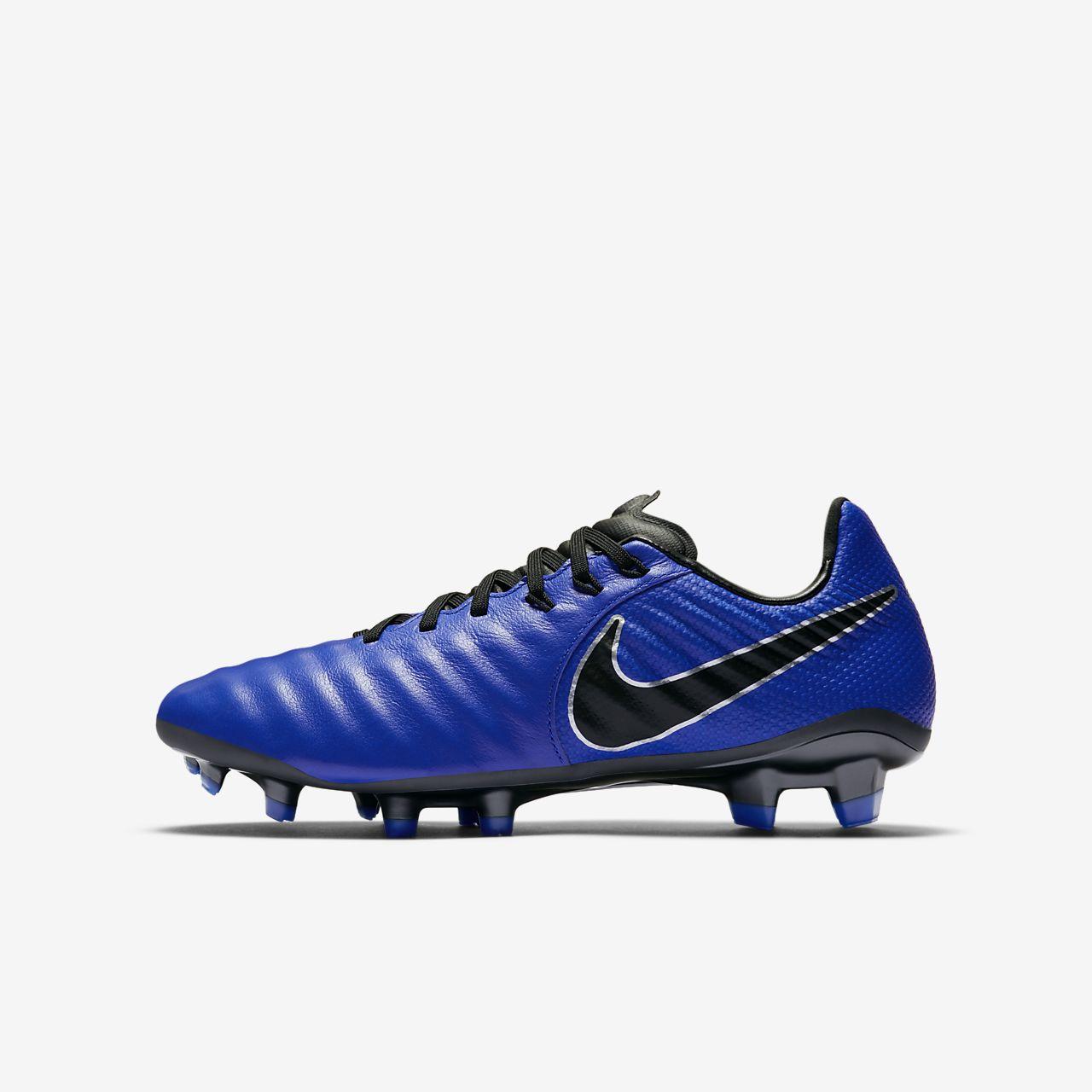 15cc9de08e4b3 ... Chuteiras de futebol para terreno firme Nike Jr. Tiempo Legend VII  Elite FG para criança