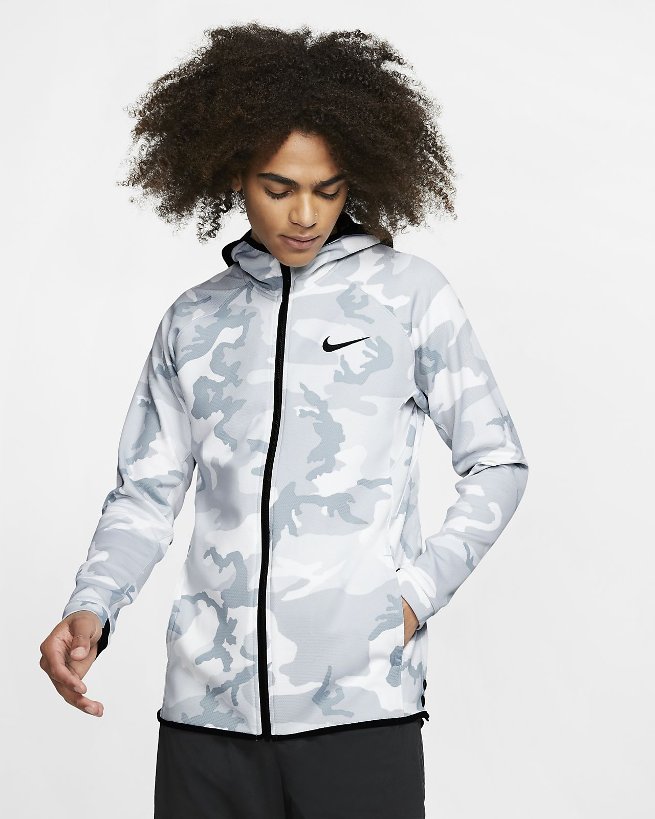 Nike Therma Flex Showtime Men's Printed Basketball Hoodie