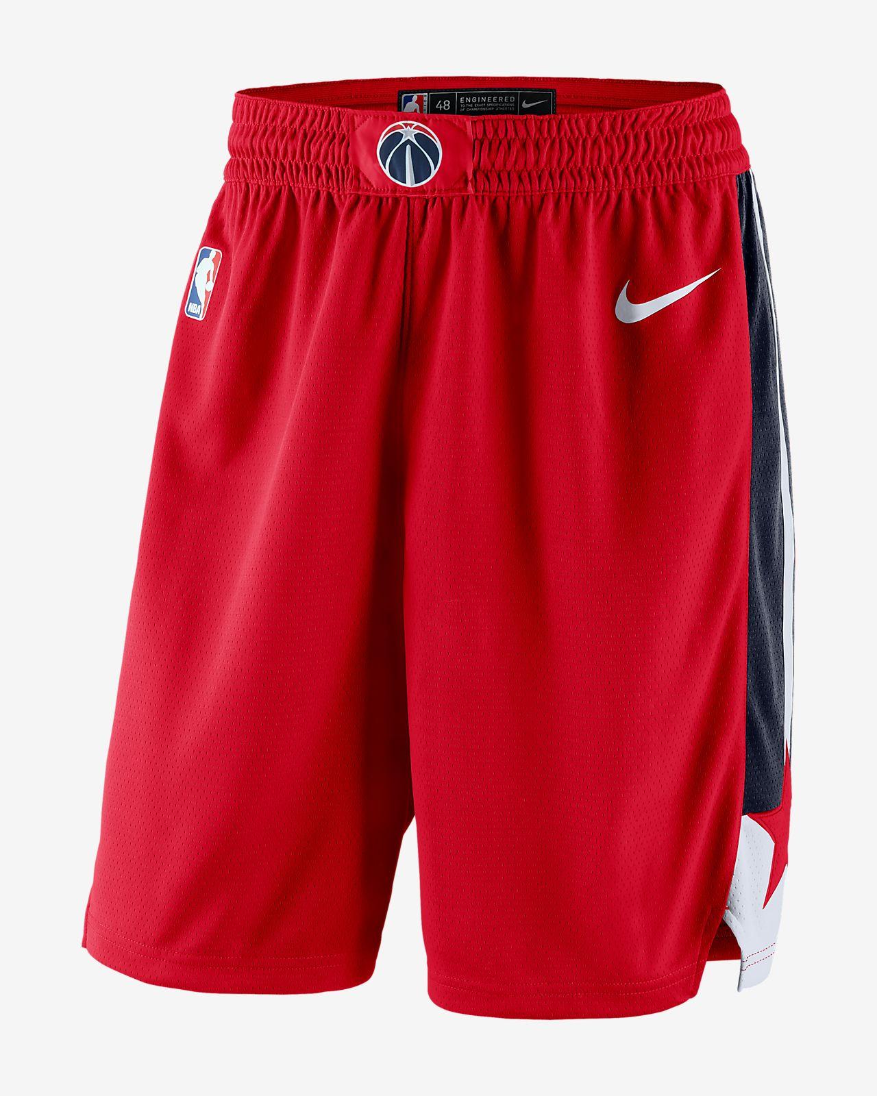 9181312ded48b ... Shorts de la NBA para hombre Washington Wizards Icon Edition Swingman