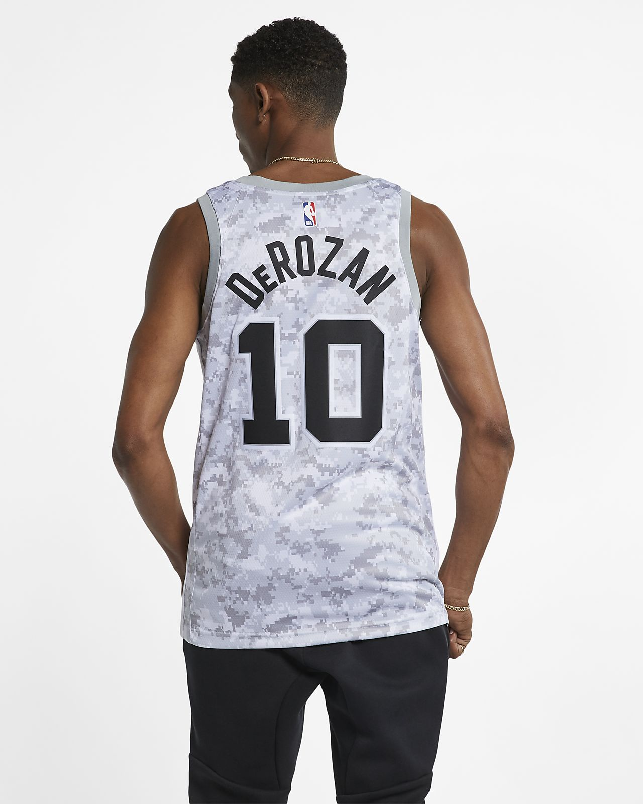 brand new 259be dcd96 DeMar DeRozan Earned City Edition Swingman (San Antonio Spurs) Men's Nike  NBA Connected Jersey
