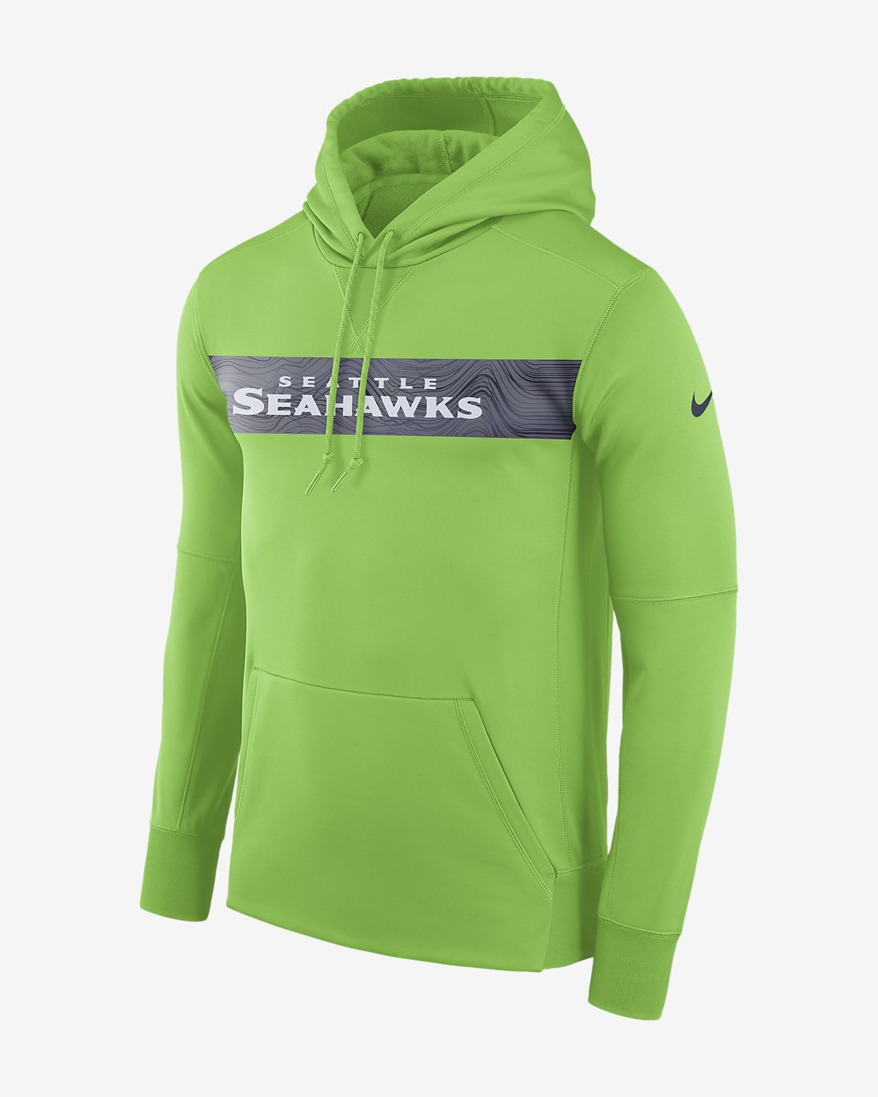 443e117440 Nike Dri-FIT Therma (NFL Seahawks) Men's Pullover Hoodie