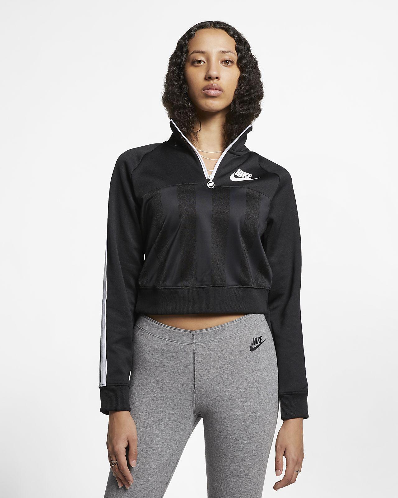 Haut à manches longues et demi-zip Nike Sportswear pour Femme. Nike ... e5a51dfc140