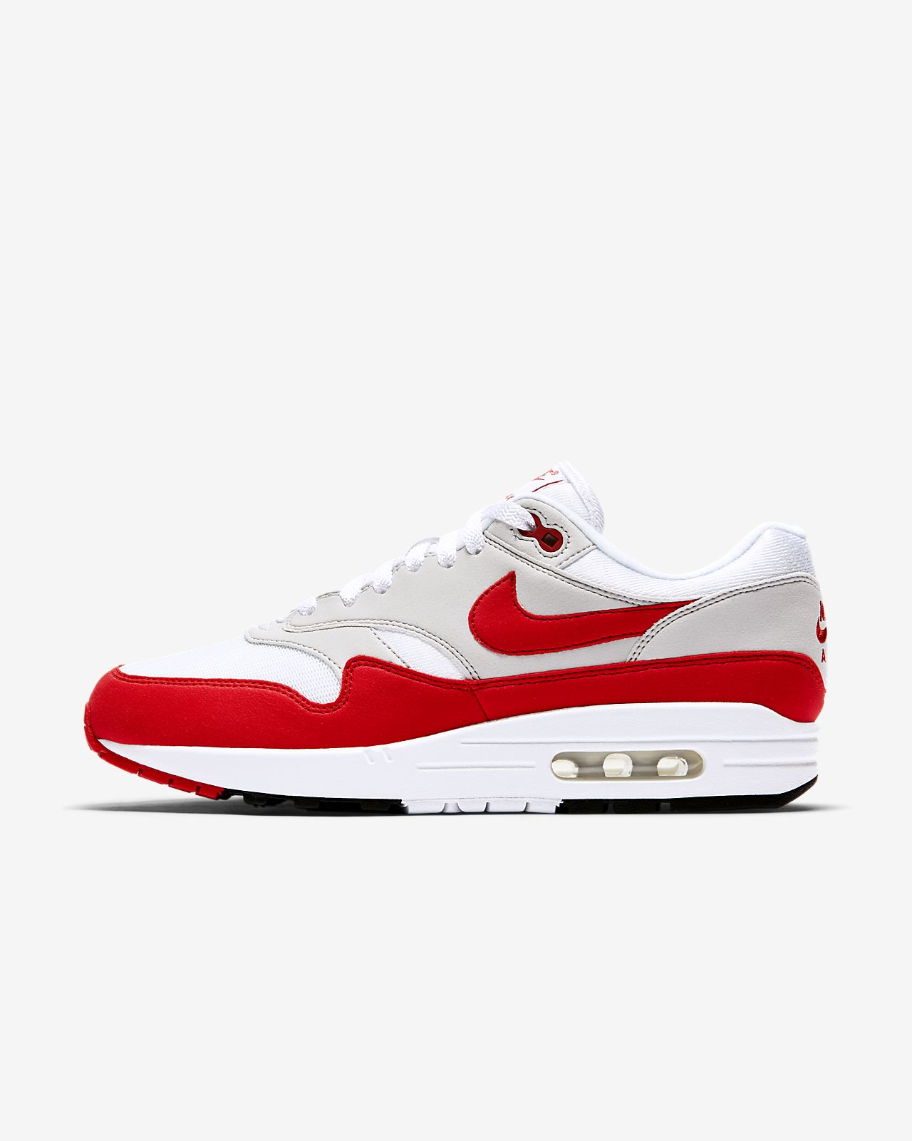 nike air max 1 red and grey nz