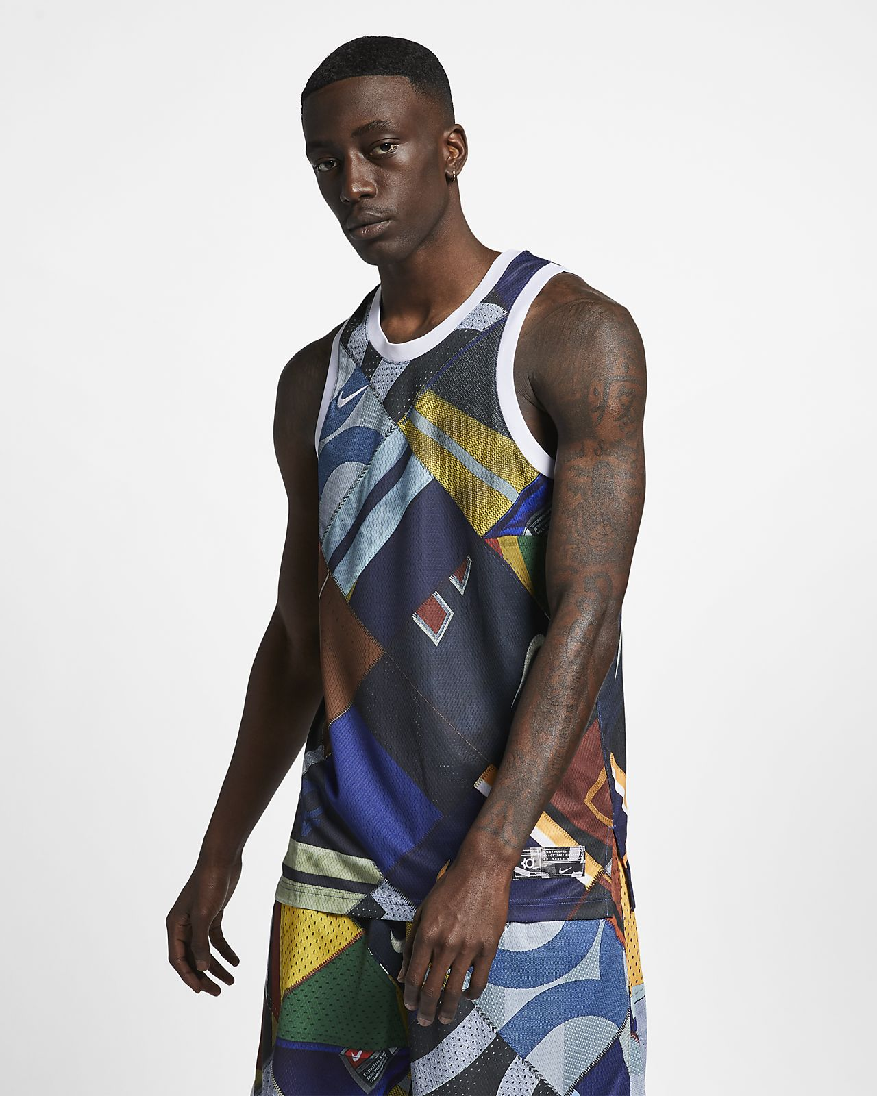 Haut sans manches de basketball KD pour Homme