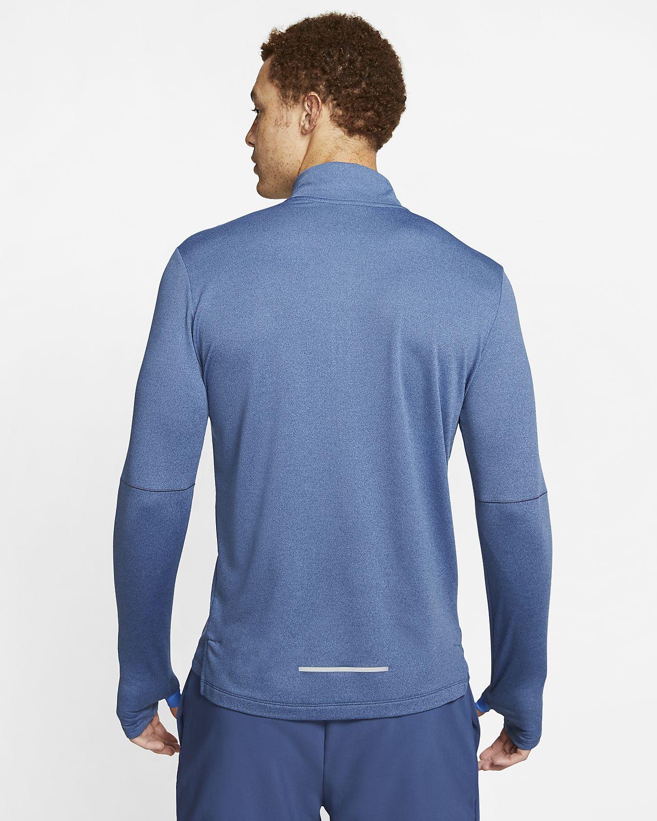 Maglia da running con zip a metà lunghezza Nike 3.0 Uomo