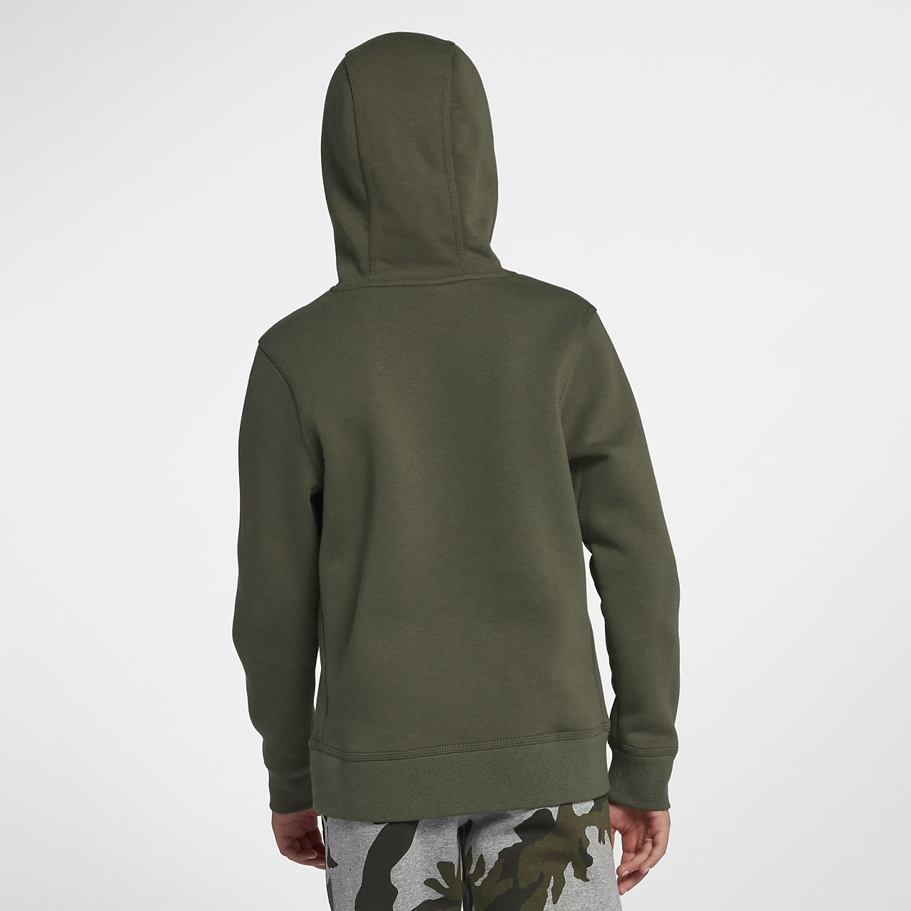 36bac8dd0d42 Παιδική μπλούζα προπόνησης με κουκούλα Nike. Nike.com GR