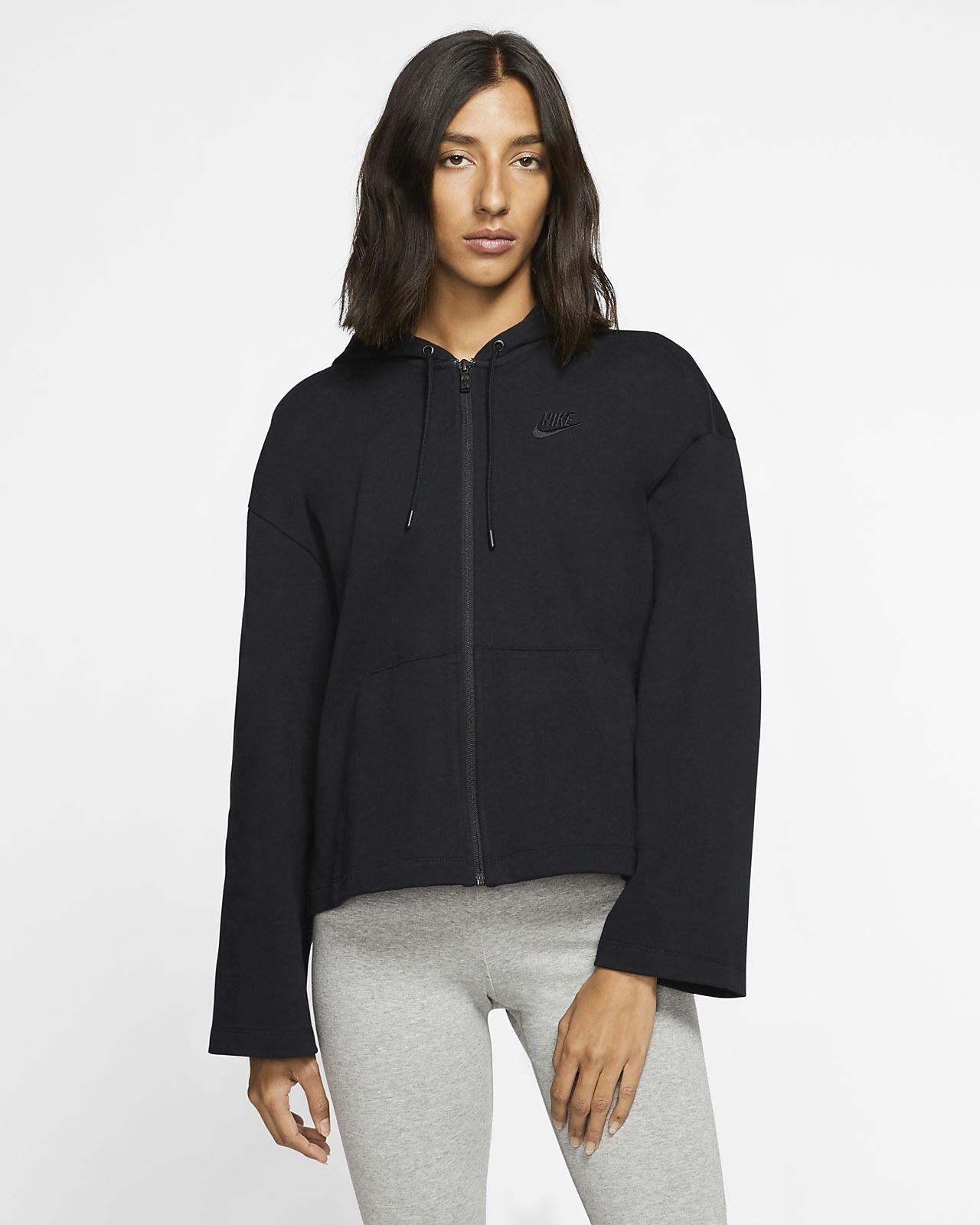 Nike Sportswear Damen Hoodie mit durchgehendem Reißverschluss