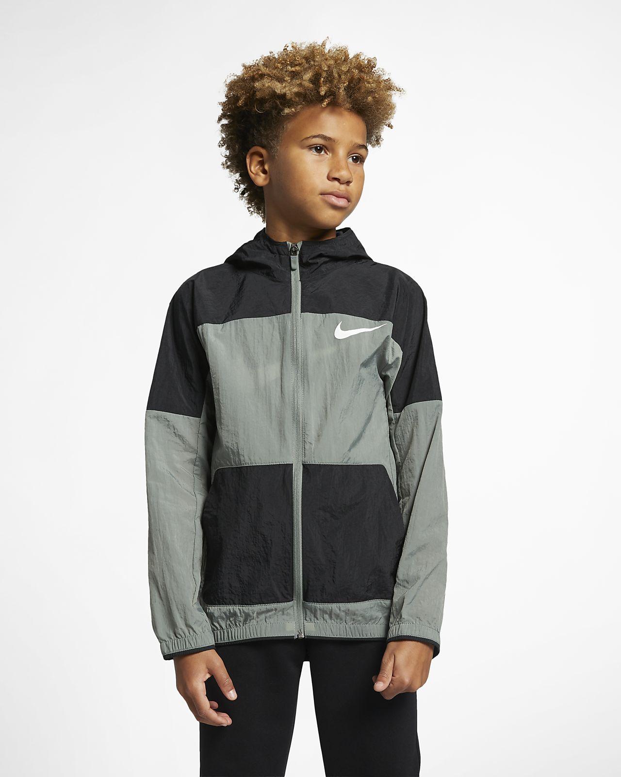 Nike Dri-FIT Web-Trainingsjacke für ältere Kinder