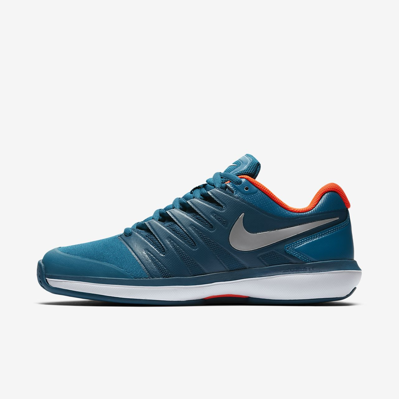 Nike PerformanceAIR ZOOM PRESTIGE HC - Multicourt shoes - gridiron/photo blue/atmosphere grey/platinum tint 655dP5